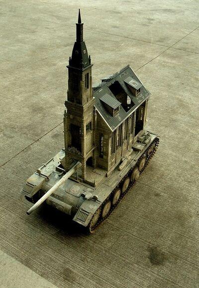 Kris Kuksi, 'Churchtank Type 13', 2013