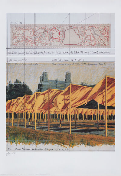 Christo, 'The Gates: Project for Central Park, New York City', 2003