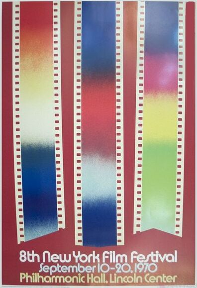 James Rosenquist, 'Short Cuts, 8th New York Film Festival', 1970