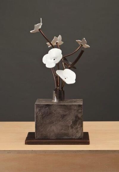 David Kimball Anderson, 'Dogwood and Poppies', 2014