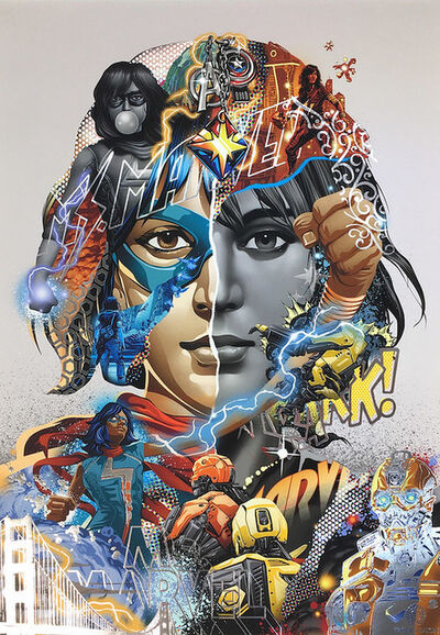 Tristan Eaton, 'MS. MARVEL', 2021