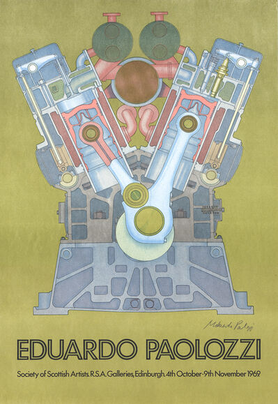 Eduardo Paolozzi, 'Society of Scottish Artists', 1969