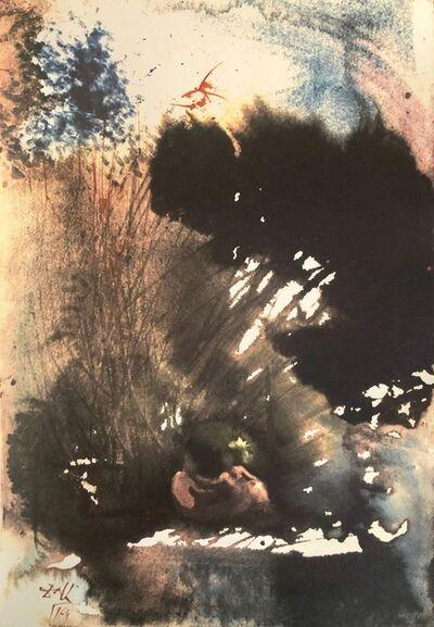 Salvador Dalí, 'Man and Woman in The garden of Pleasure, 'Vir et Mulier in Paradiso Voluptatis', Biblia Sacra', 1967