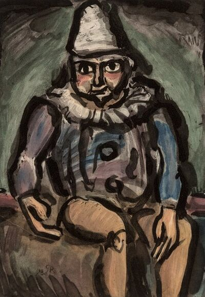 Georges Rouault, 'Le Vieux Clown, from Cirque', 1930