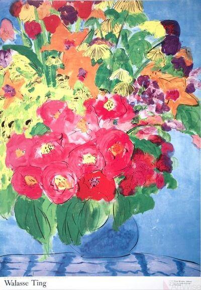 Walasse Ting 丁雄泉, 'Flowers', 1990