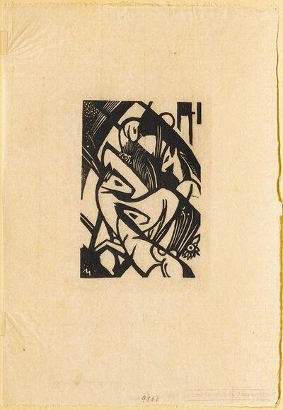 Franz Marc, 'Springende Pferdchen', 1912