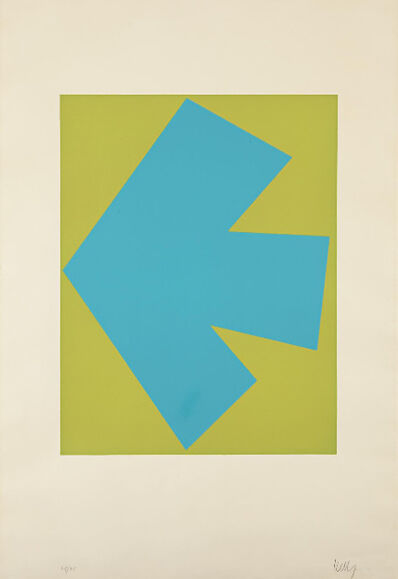Ellsworth Kelly, 'Blue Over Green, from Suite of Twenty-Seven Color Lithographs', 1964-1965