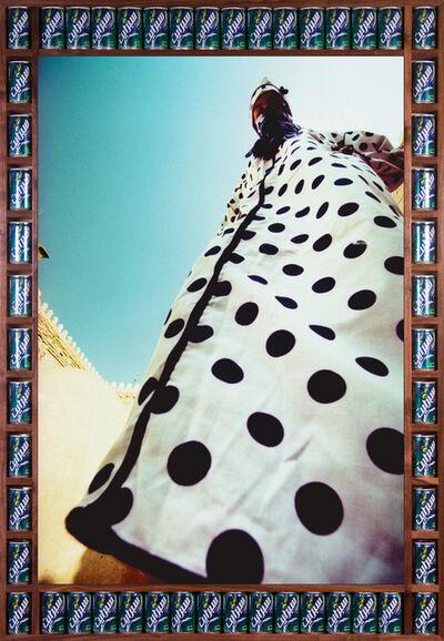 Hassan Hajjaj, 'Pois Bleu', 2000