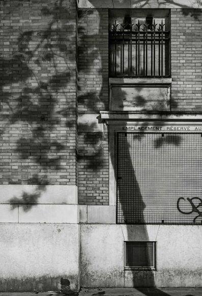 Michael Wolf (b. 1954), '#3, Paris Tree Shadows', 2014