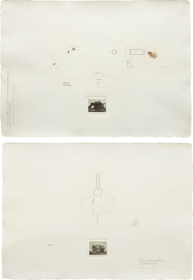 Carlos Garaicoa, 'Two Works: i) Y nos obliga a volar en la misma direccion ii) Ese Silencio Ambiguo', i) 1999; ii) 1998.