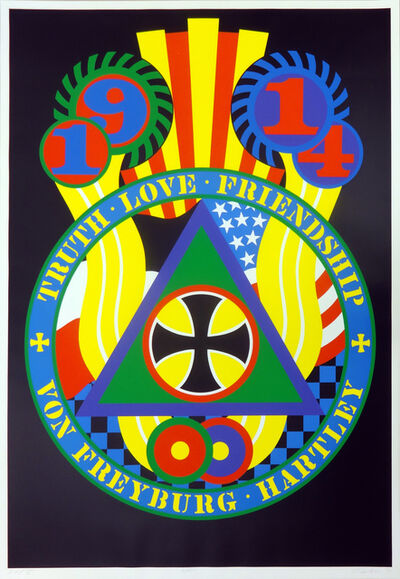 Robert Indiana, 'The Hartley Elegies-KVF V', 1990