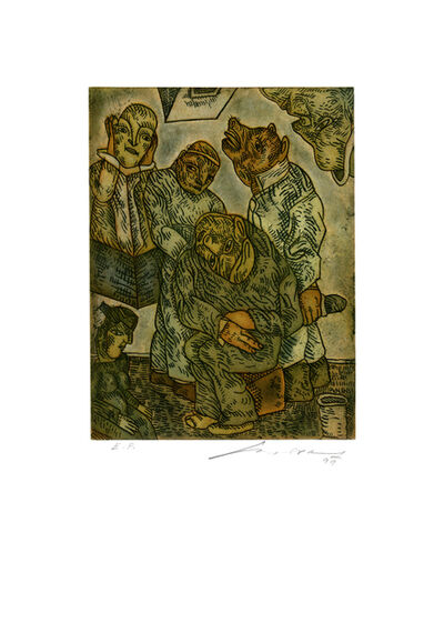 Jose Luis Cuevas, 'Cuarto Obscuro', 1999
