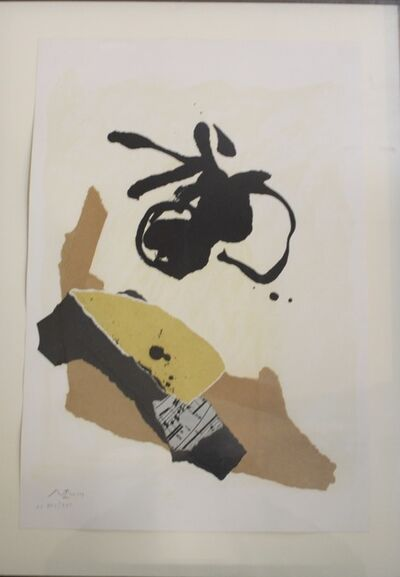 Robert Motherwell, 'Untitled', 1986