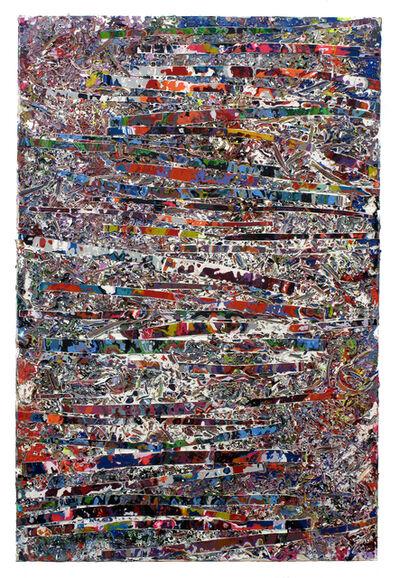 Jacin Giordano, 'Shredded Painting #51', 2015