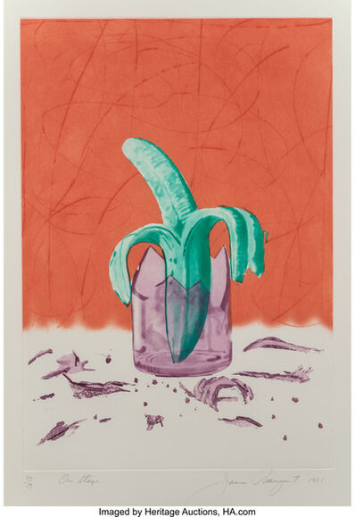 James Rosenquist, 'On Stage, from The Glass Wishes', 1981