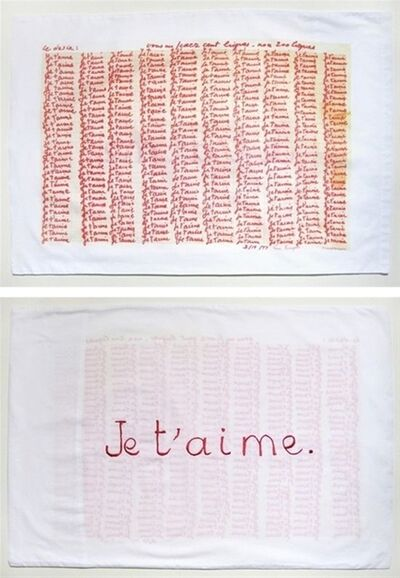 Louise Bourgeois, 'Red Room (parents), detail', 2009