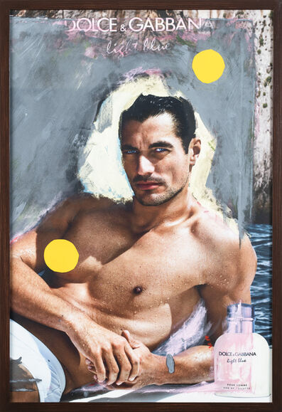 Grace Ndiritu, 'D&G David Gandy Yellow Spot', 2015-2018