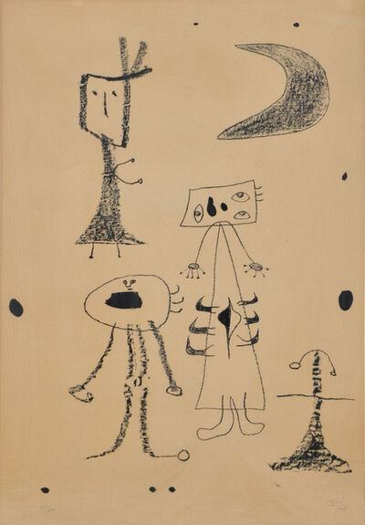 Joan Miró, 'Femmes', 1948