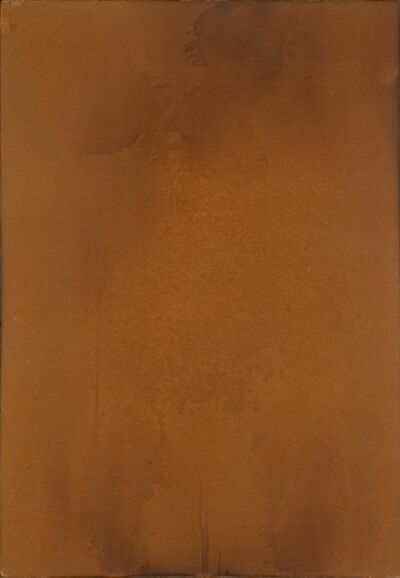 """Yves Klein, 'F 87 """"Body imprint made with water and fire""""', 1961"""