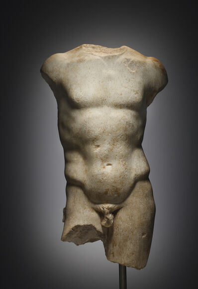 Unknown Greek, 'A Torso of an Athlete', Late Hellenistic, Roman, 1st cent. B.C.