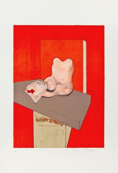 Francis Bacon, 'Etude du corps humain d'après Ingres', 1984