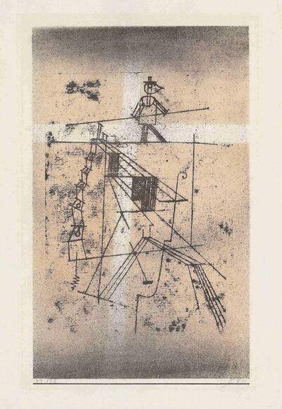 Paul Klee, 'Seiltänzer', 1923