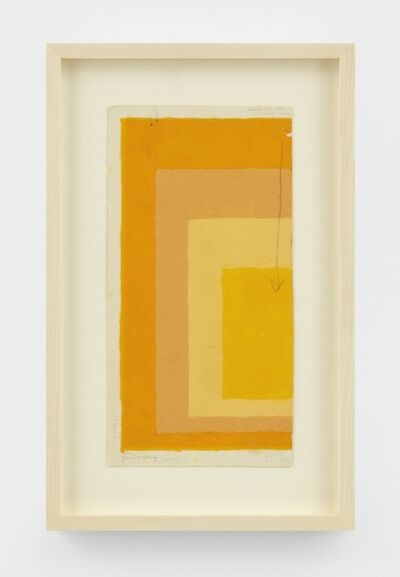 Josef Albers, 'Study for Homage to the Square', n.d.