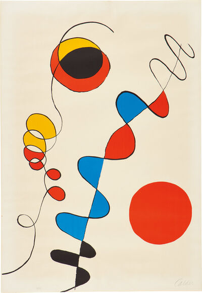 Alexander Calder, 'Couleurs enlaces dans le fil de fer (Colors Entwined in the Wire)', c. 1965