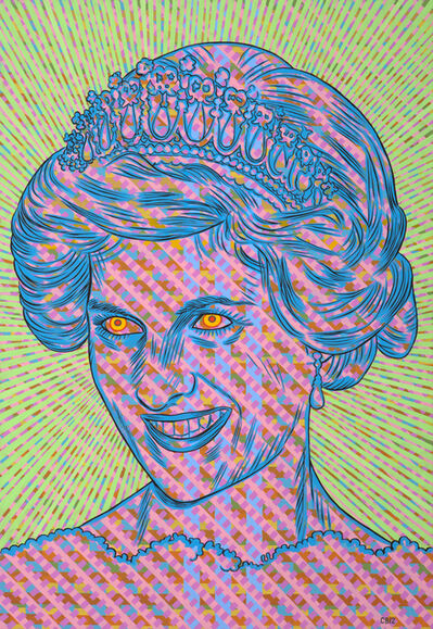 Conrad Botes, 'Zombie Babylon 9 (Lady Di)', 2012