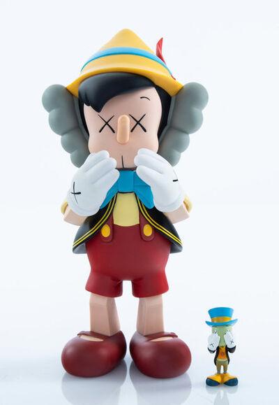 KAWS X Disney, 'Pinocchio & Jiminy Cricket', 2010