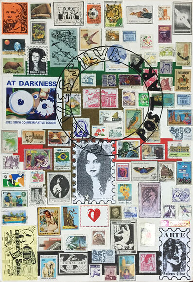 Falves Silva, 'Artist's stamps VI, from the series 'Postal Art'', 1998