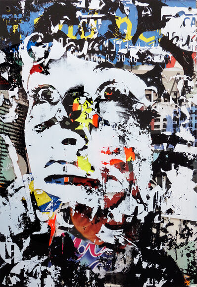Vhils, 'Out Of Your Comfort Zone (Perspex Edition)', 2010