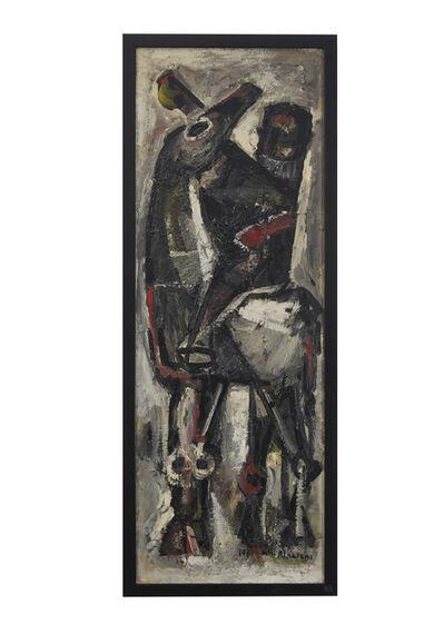 Khouzayma Alwani, 'Le chevalier', 1961