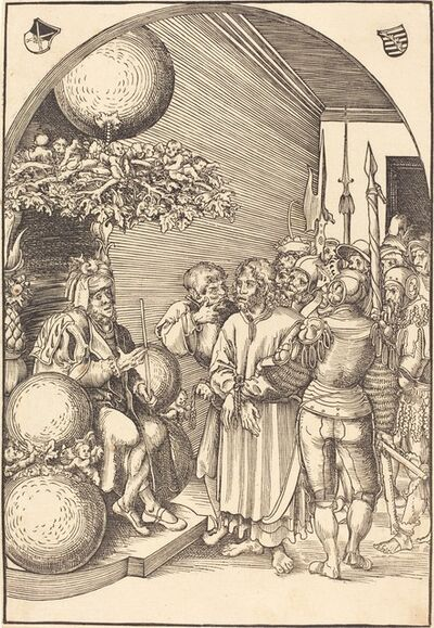Lucas Cranach the Elder, 'Christ before Herod', in or before 1509