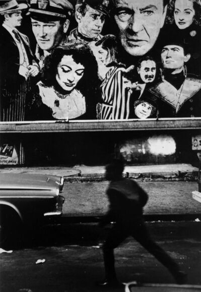 Louis Draper, 'Boy and Movie Poster, Harlem, New York City', 1968