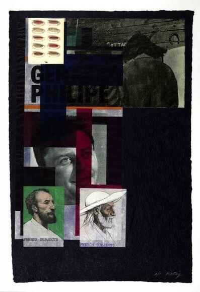 R. B. Kitaj, 'French Subjects', 1974