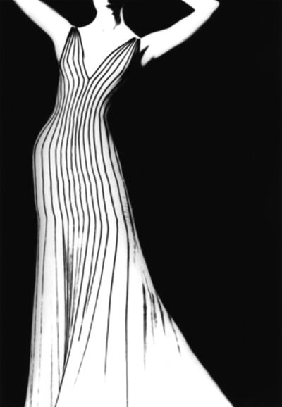 Lillian Bassman, 'Thierry Mugler Dress, German VOGUE', 1998