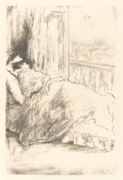 James Abbott McNeill Whistler, 'By the Balcony', 1896