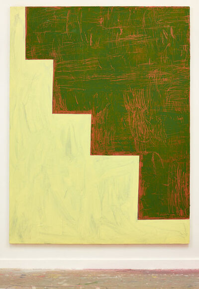Shaan Syed, 'Minaret (Lime and Green)', 2017