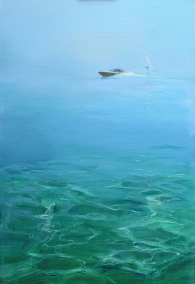 Birgitte Lykke Madsen, 'Boat in Horizon II', 2018