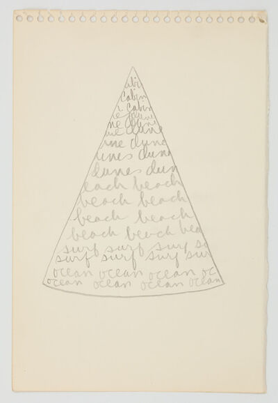 Trisha Brown, 'Pie eyed view from the cabin', 1973
