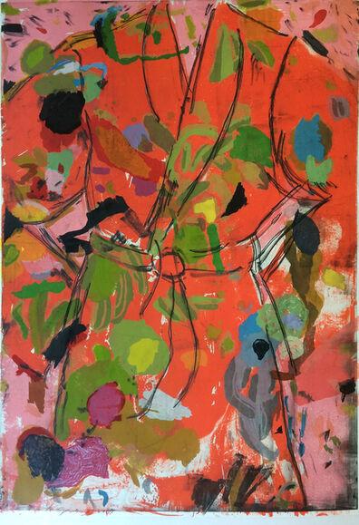 Jim Dine, 'Orange Birthday Robe', 2010
