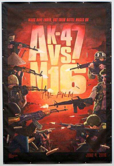 The Propeller Group, 'Movie Poster for The AK-47 vs. M16', 2016