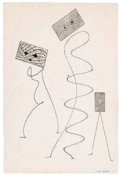 Max Ernst, 'Original collage for La Brebis Galante', 1949