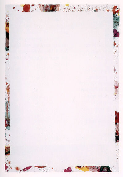 Sam Francis, 'Yunan (State I)', 1971