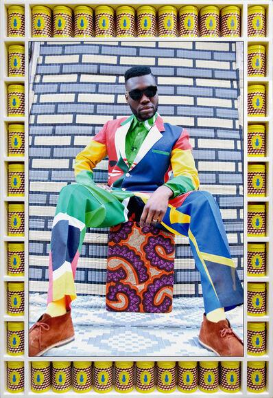 Hassan Hajjaj, 'Afrikan Boy Sittin'', 2013/1434