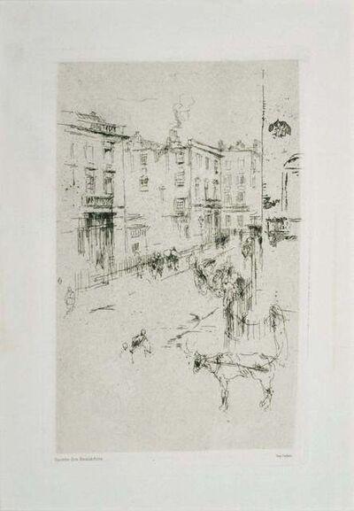 James Abbott McNeill Whistler, 'Alderney Street', 1881