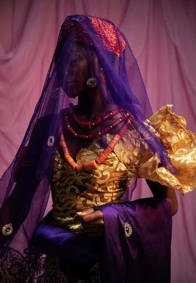 Lakin Ogunbanwo, 'Untitled VI', 2019
