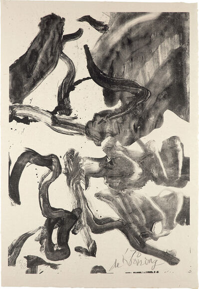 Willem de Kooning, 'Reflections: To Kermit for Our Trip to Japan', 1970
