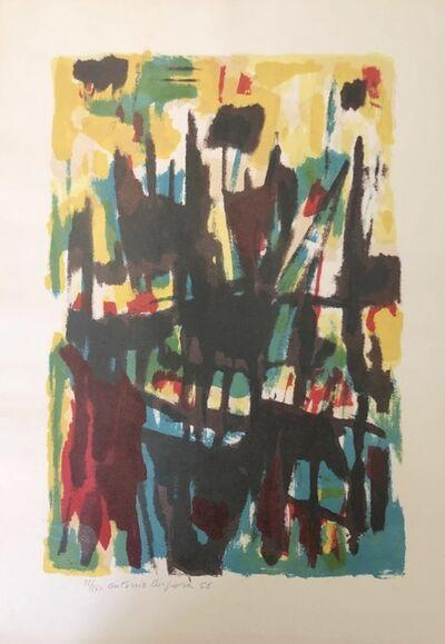 Antonio Corpora, 'Abstract Composition', 1956